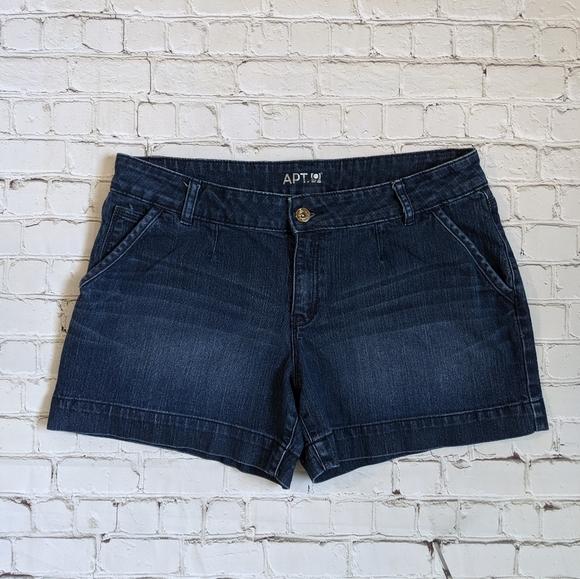 Apt. 9 Pants - Apt. 9 Modern Blue Denim Jean Shorts